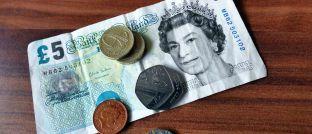 Geldschein: Auch die britische 5-Pfund-Note enthält tierisches Fett.