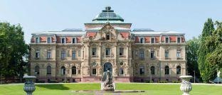 Das Erbgroßherzogliche Palais in Karlsruhe ist Sitz des Bundesgerichtshofs.