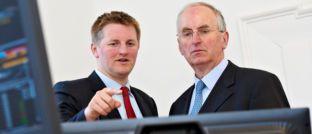 Partner bei Salm-Salm & Partner: Constantin Prinz zu Salm-Salm (links) und Unternehmensgründer Michael Prinz zu Salm-Salm