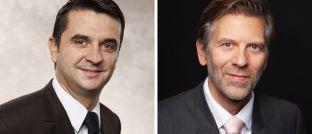 Cyril Freu (l.) und Pierre Valade: Die Absolute-Return-Fonds der DNCA Investments bekommen ein neues Management.