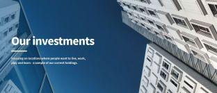 Screenshot der Internetseite des Fonds Encore+