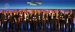 Preisverleihung bei den Scope Investment Awards