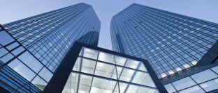 Im Visier der Ermittler: Die Zentrale der Deutschen Bank in Frankfurt