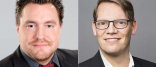 Andreas Ritter (l.) und Dirk Rathjen treten die Nachfolge von IVA-Gründer Andreas Beck an.