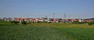 Dank Mietpreisbremse künftig ein seltenes Bild?: Wohnungsbau in Deutschland