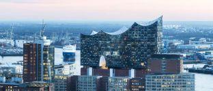 Elbphilharmonie: Die Hamburger Hafencity war Standort der Wölbern Invest.
