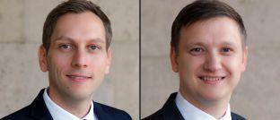 Gründer und Chefs von Absolute Asset Management: Jens Nitschke (links) und Alexander Prüfer