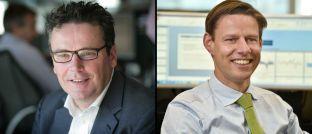 Fondsmanager bei LGIM: Emiel van den Heiligenberg (links) und Willem Klijnstra