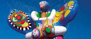 Lebensretter-Brunnen von Niki de Saint-Phalle: Mischfonds sollen Börsenturbulenzen abfedern können
