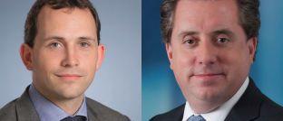 Rod MacPhee und David Zahn (r.): Der Portfolio Manager der Franklin Templeton Fixed Income Group und der Head of European Fixed Income verwalten das Anleiheportfolio des neuen Fonds.