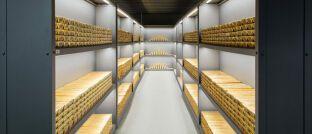 Goldbarren im Tresor der Deutschen Bundesbank in Frankfurt: Bei Notenbanken und auch Anlegern nimmt das Interesse an Gold zu.