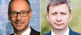Holger Schröm, Senior-Kundenberater, und Marek Szczerkowski, Steuerexperte bei J.P. Morgan Asset Management