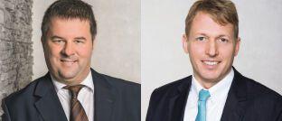 Christoph Frank (l.) und Roger Peeters: Die beiden geschäftsführenden Gesellschafter bei PFP Advisory verantworten die Beratung des DWS Concept Platow (ISIN: LU1865032954).
