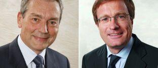 Philippe Champigneulle und Jean-Charles Mériaux (li.): Die beiden Fondsmanager verantworten den konservativen Europa-Mischfonds DNCA Invest Eurose (ISIN: LU0284394235).