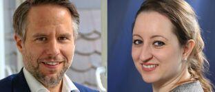 Andreas Peichl und Julia Schricker (v.l.): Die beiden Forscher am Ifo-Institut analysieren das Entgelttransparenzgesetz.