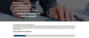 Sreenshot der Internetseite des Resultate Institut.  Das Beratungsunternehmen hat ein Online-Tool für die schnelle Bestandsbewertung programmiert.