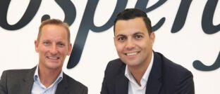 Prospery-Geschäftsführer Dirk-Jan Schuiten (links) und Omar El Khamlichi (rechts). Ende Mai gehen bei Prospery die Lichter aus.