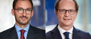 Übernehmen ab sofort das Steuer von Christian Gueugnier: Bertrand Merveille (li.) und Olivier de Berranger.