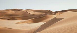 Megatrend Nachhaltigkeit: Frisches Wasser kommt aus der Wüste und ist theoretisch überall vorhanden.