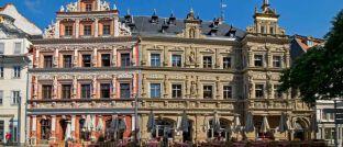 Fischmarkt in Erfurt: In Thüringens Hauptstadt erwarb der neue Credit-Suisse-Fonds ein Objekt