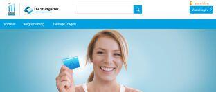 """Screenshot der Startseite von meineStuttgarter.de: Die Stuttgarter Versicherungsgruppe verspricht sich mit ihrer Digitalisierungsstrategie """"mehr Zeit für Vermittler, mehr Flexibilität für Versicherte""""."""