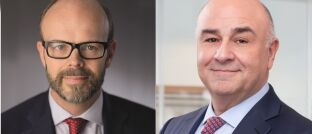 Der ehemalige GAM-Fondsmanager Tim Haywood (l.) und GAM-Chef David Jacob.