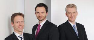 Jens Kummer, Damian Krzizok, Andreas Bichler (v.l.n.r.), Starcapital. Sie betreuen den BB Europe Equity Market Neutral.