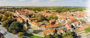 Altstadt von Sömmerda. Dort ist Eigentum im Vergleich zur Miete bundesweit am vorteilhaftesten.