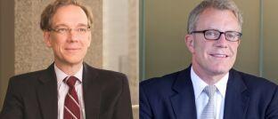 """Rob Lovelace (l.) und David Polak: """"Wir konzentrieren uns auf den Gesundheitssektor."""""""