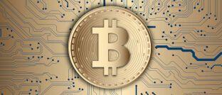 Die Kryptowährung Bitcoin erreichte mit 7.000 US-Dollar am 13. Mai ein neues Jahreshoch.