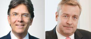Frank Fischer (links) managt den Frankfurter Aktienfonds für Stiftungen, Christoph Bruns den Loys Global