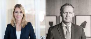 Karolyn Krekic und Matthias Mohr, die Vertriebsdoppelspitze für Finanzintermediäre bei Capital Group in Deutschland.
