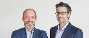 Die beiden Vaamo-Gründer Thomas Bloch (l.) und Oliver Vins: Aus der Robo-Advisor-Marke wird Moneyfarm.