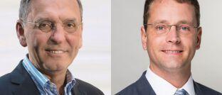 Defino-Chef Klaus Möller (li.) und Niels Nauhauser von der VZBW bewerten die DIN-Norm 77230 sehr unterschiedlich.