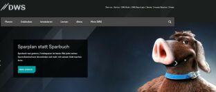 DWS-Homepage: Die Fondsgesellschaft hat ihre Publikums-Hedgefondsplattform DB Platinum verkauft.