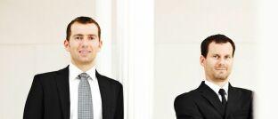 Uwe Rathausky (links) und Henrik Muhle sind die Vorstände des Value-Investors Gané und managen gemeinsam den Mischfonds Acatis Gané Value Event.