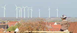 Windkraftpark: Das Thema Nachhaltigkeit spielt bei ETF-Investoren eine immer größere Rolle.