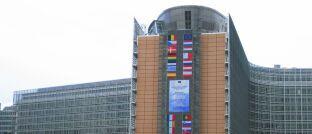 Das Berlaymont-Gebäude in Brüssel ist der Sitz des Generalsekretariats der Europäischen Kommission.
