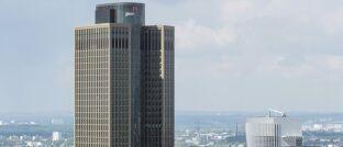 Gehört der Deka: Der 200 Meter hohe Tower 185 in Frankfurt am Main
