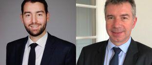 Treten im Juli an die Spitze des Mischfonds Portfolio Capital Plus von Carmignac: Eliezer Ben Zimra (li.) und Guillaume Rigeade.