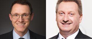 Norbert Schmidt (links) und Gerhard Mayer.