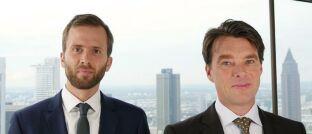 Felix Herrmann (l.) und Martin Lück von BlackRock