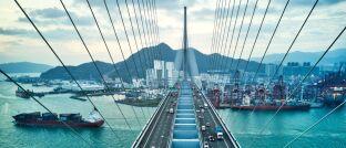Brücke in Asien