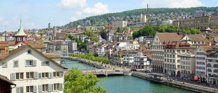 Geldstadt Zürich: Die Fondsgesellschaft GAM hat hier ihren Sitz.