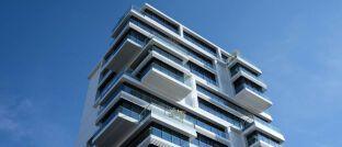 Büroturm. Auch Immobilien lassen sich per Token handeln.
