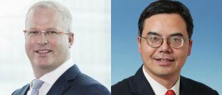 Die China Experten Hayden Briscoe und Bin Shi sehen für chinesische Staatsanleihen sowie Aktien aus dem Gesundheits- und Technologiesektor eine aufkommende Nachfrage.