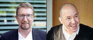 Hans-Jürgen Dannheisig, Mitglied des Vorstandes von Nixdorf Kapital (links), und Greiff-Chef Volker Schilling