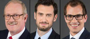 Lingohr-Leute (von links): Michael Broszeit, Goran Vasiljevic und Steffen Ulshöfer