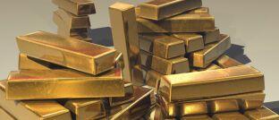 Goldbarren. Im Betrugsverdachtsfall um Goldsparplan-Anbieter PIM Gold könnten auch Vermittler unter Beschuss geraten.