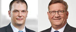 Christopher Zilch (l.) und Oliver Heist arbeiten bei EY in der Wealth-Management-Beratung.